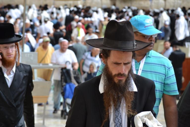 ユダヤ教超正統派にくぎったけ