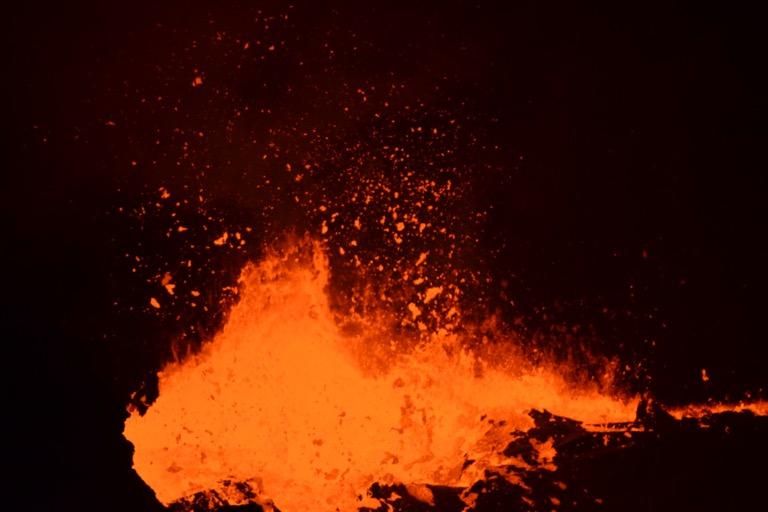 エチオピア エルタ・アレ火山