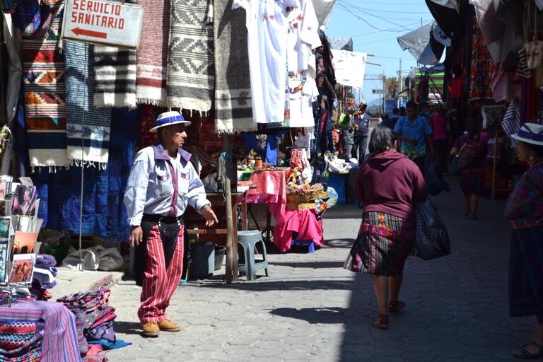 グアテマラ チチカステナンゴ市場
