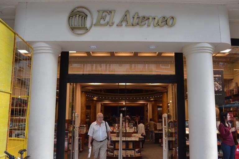 アルゼンチン ブエノスアイレス 本屋 エル・アテネオ(El Ateneo)