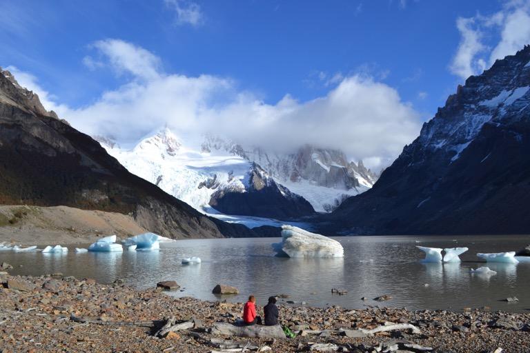 アルゼンチン パタゴニア セロ・トーレ湖 エル・カラファテ