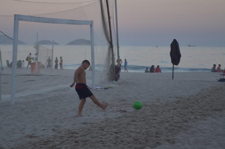 ブラジル リオデジャネイロ イパネマ コパカバーナ ビーチ 海