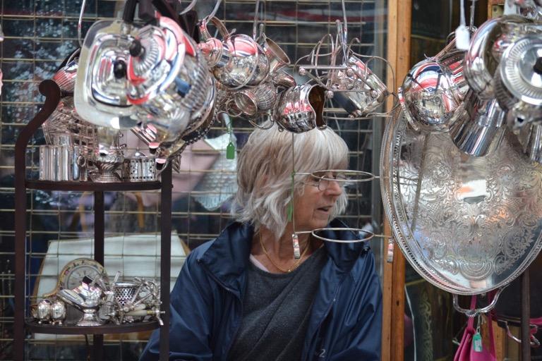 イギリス ロンドン ファッション フリーマーケット