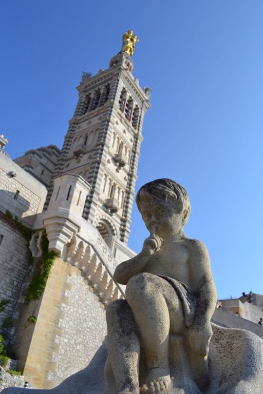 ノートルダム・ド・ラ・ガルド フランス マルセイユ 教会
