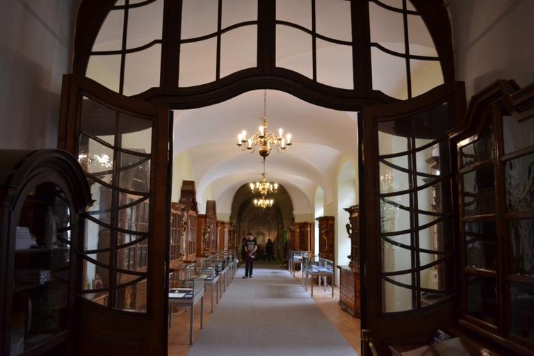 チェコ プラハ ストラホフ修道院図書館