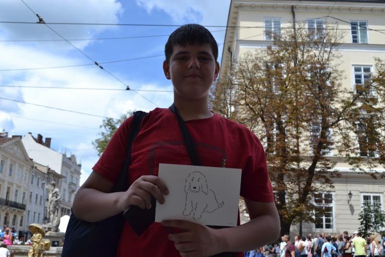 イラスト 増田裕士 ウクライナ リヴィウ
