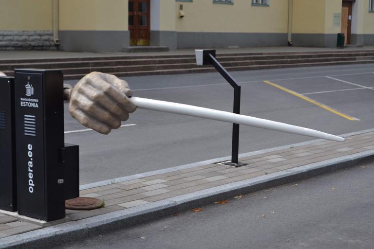 エストニア タリン サイン