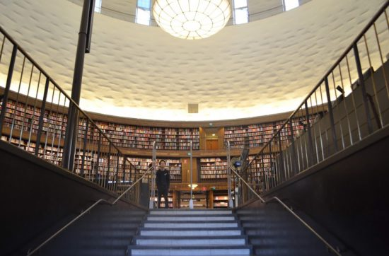 monkey climb ストックホルム市立図書館